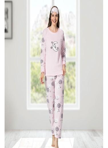 Oksit Pijama Takım Pembe
